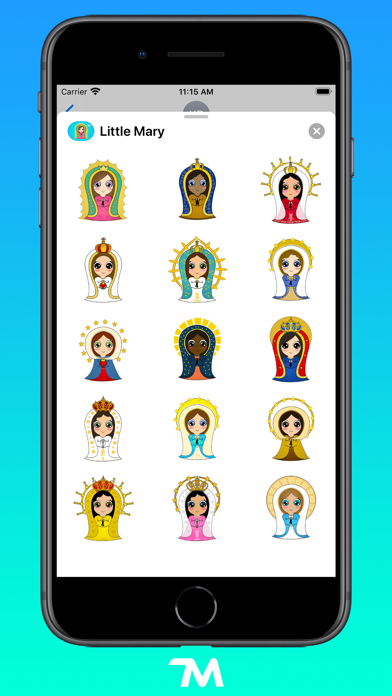 Screenshot of Little Mary App
