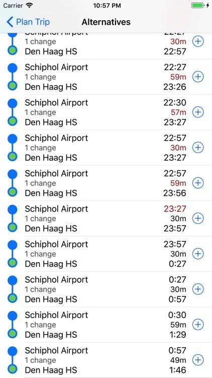 Trein app screenshot-3