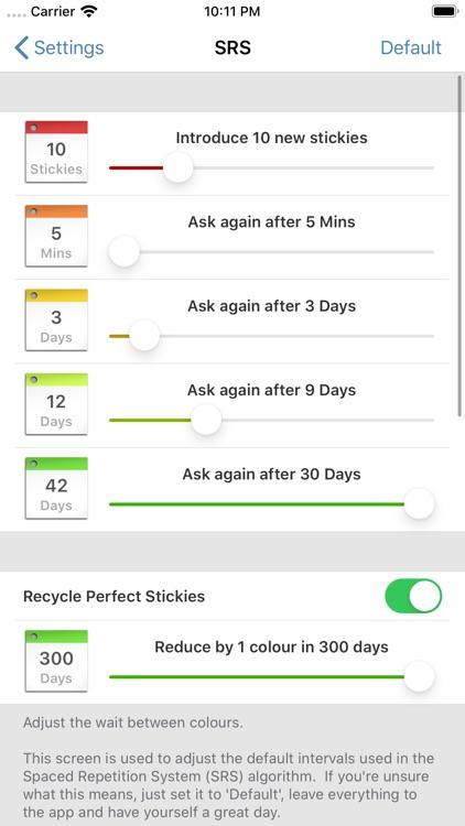 StickyStudy Japanese screenshot-9