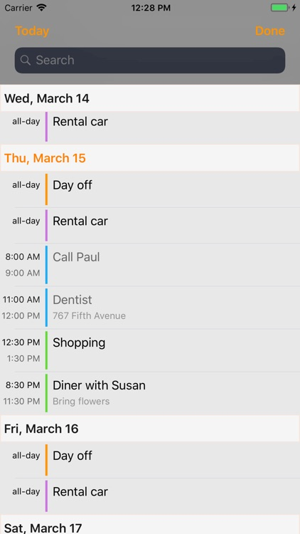 Page Calendar screenshot-3