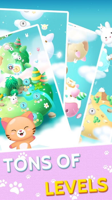 Screenshot for Pets Park (动物消消乐园) in Saudi Arabia App Store