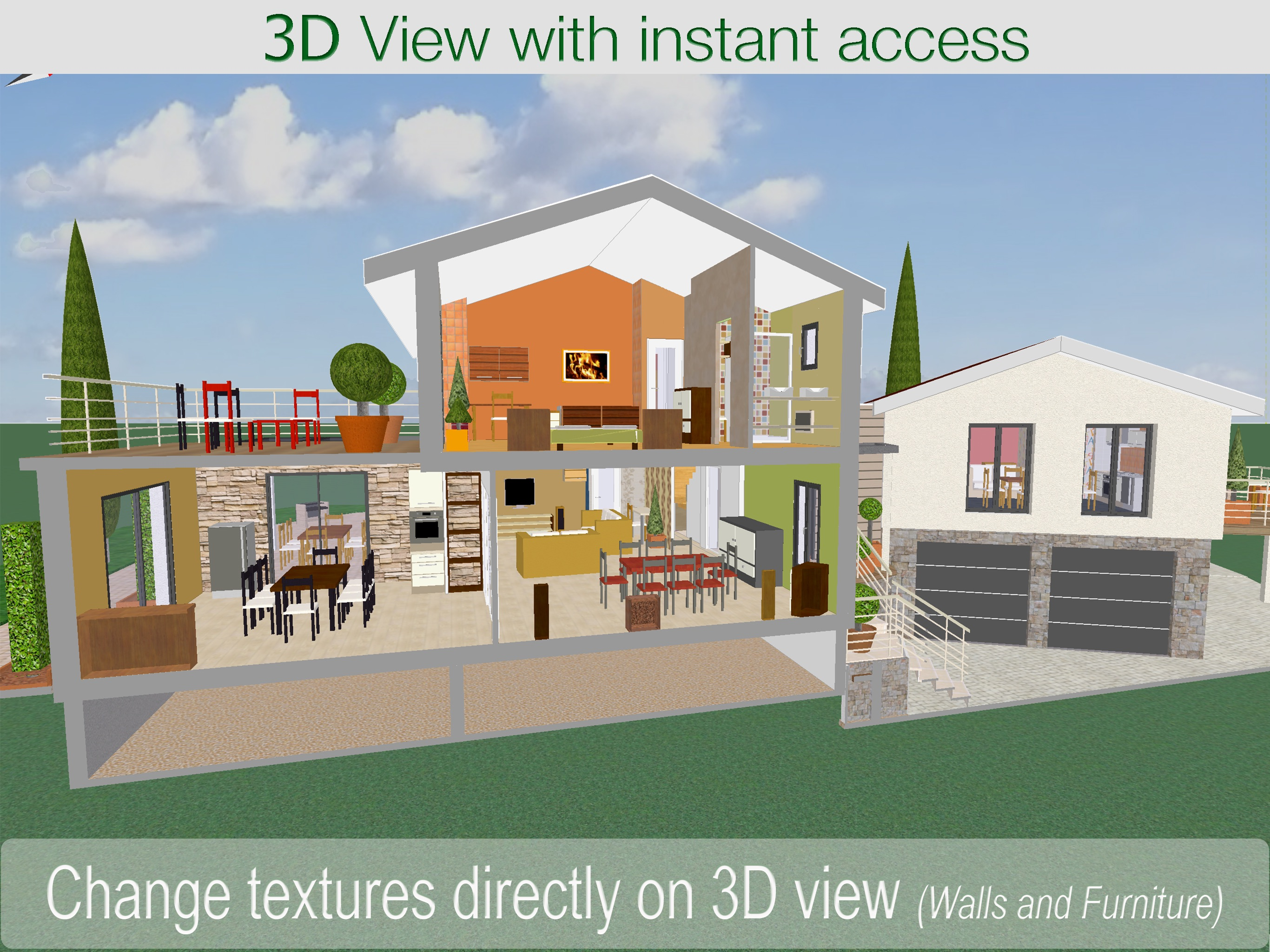 ArchiTouch 3D - Home Design Screenshot
