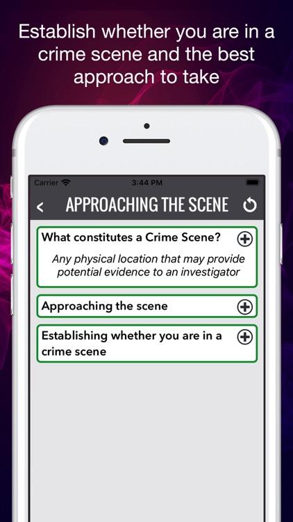Crime Scene Assistant screenshot-6