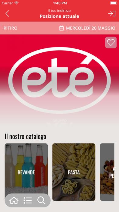 Eté Supermercati screenshot 2