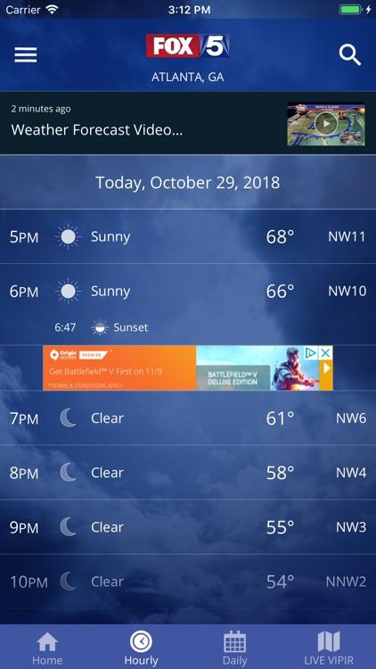 FOX 5 Storm Team Weather Radar screenshot-4