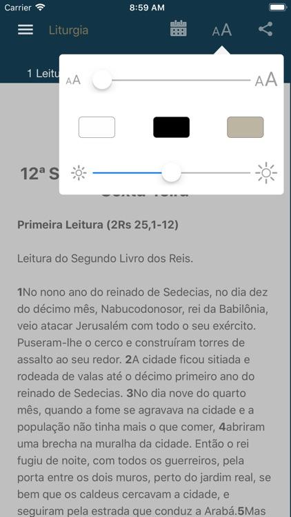 Liturgia Diária screenshot-5