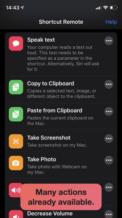 Shortcut Remote Control screenshot-5