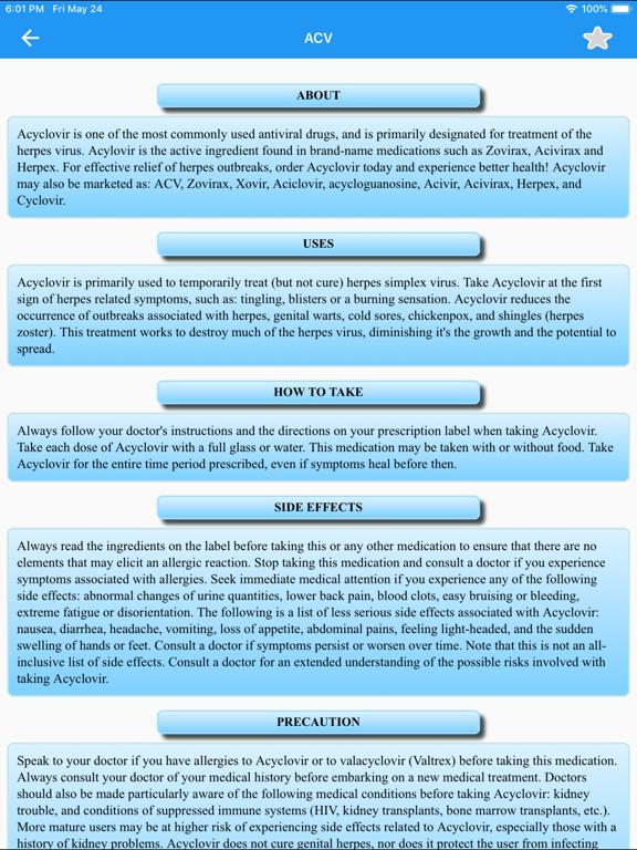 Drugs Dictionary Offline: FREE screenshot