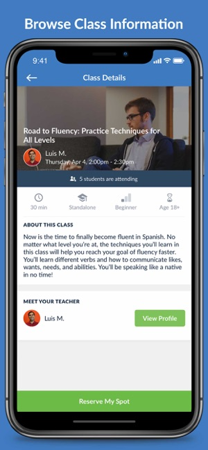 TakeLessons Live on the App Store