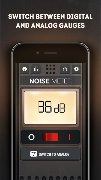Noise Meter Tool AI - dB Level
