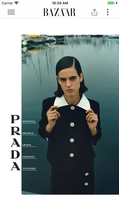 Screenshot for Harper's Bazaar UK in Austria App Store