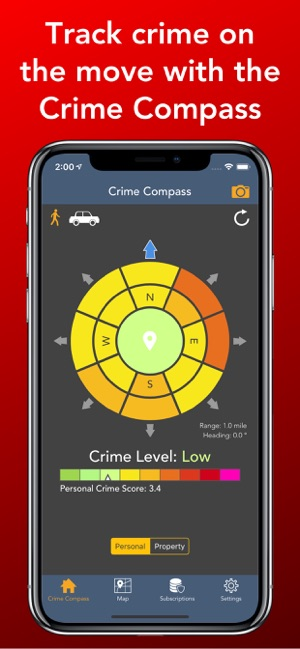 Crime and Place: Stats & Maps Screenshot