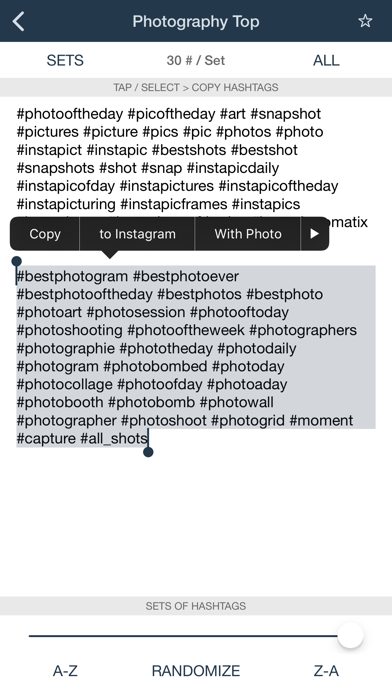 Hashtags for Likes - Tags Pro Screenshots