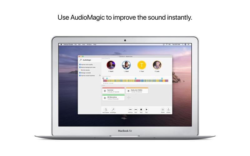 Podcast Studio for Mac