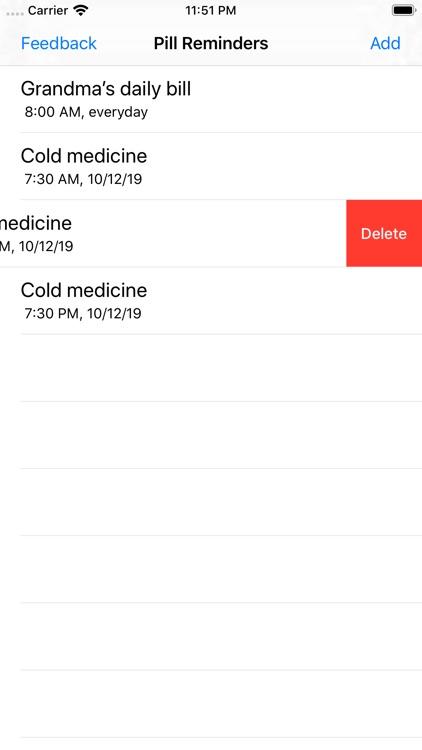 My Pill Time Reminder screenshot-4