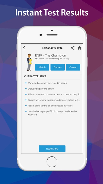 PersonalityMatch screenshot-2