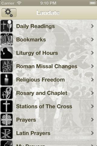 Laudate - #1 Catholic App - náhled
