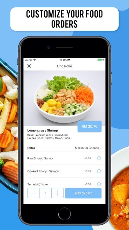 Lyfe | Kuching Food Delivery screenshot-3