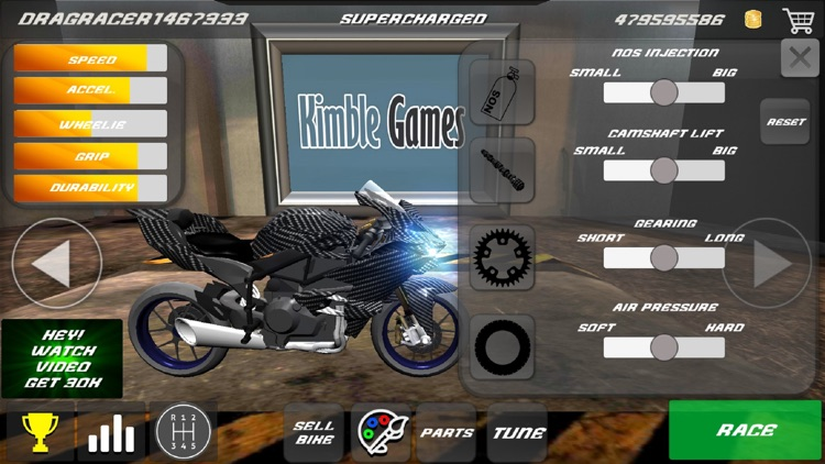 Drag Bikes - Motorbike edition screenshot-4