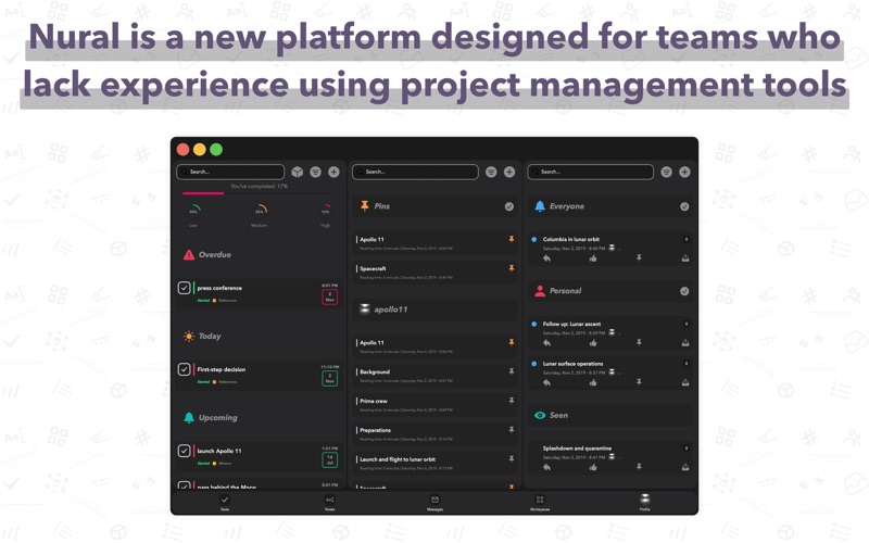 Nural - Team Management for Mac