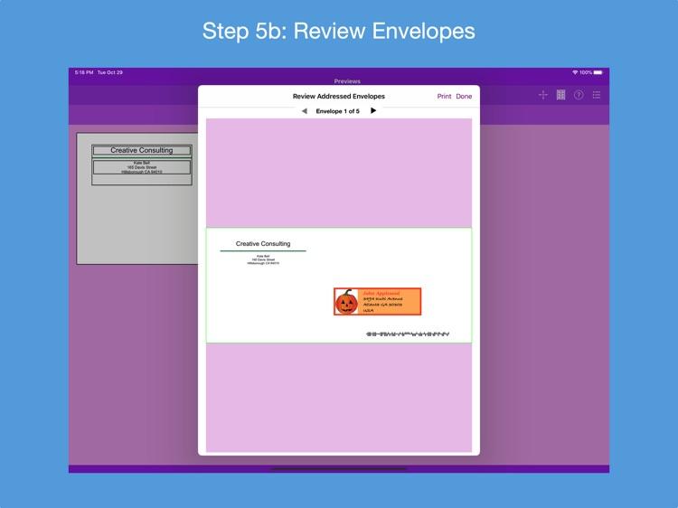 Addressed Envelope Designer screenshot-5