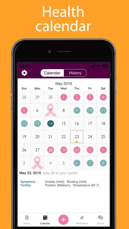iPeriod Period Tracker +