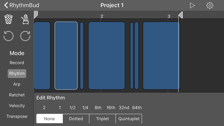 RhythmBud - AUv3 MIDI FX