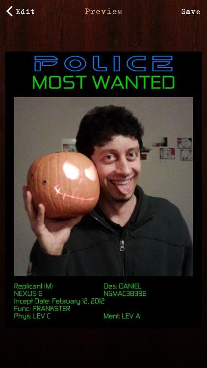 Wanted Poster Pro screenshot-4