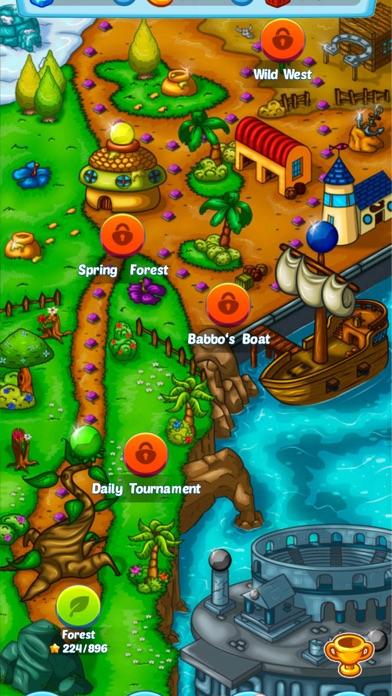 Screenshot of Bubble Shooter 3.0 World3