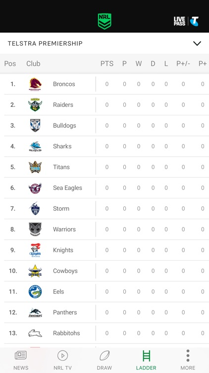 NRL Official App screenshot-3