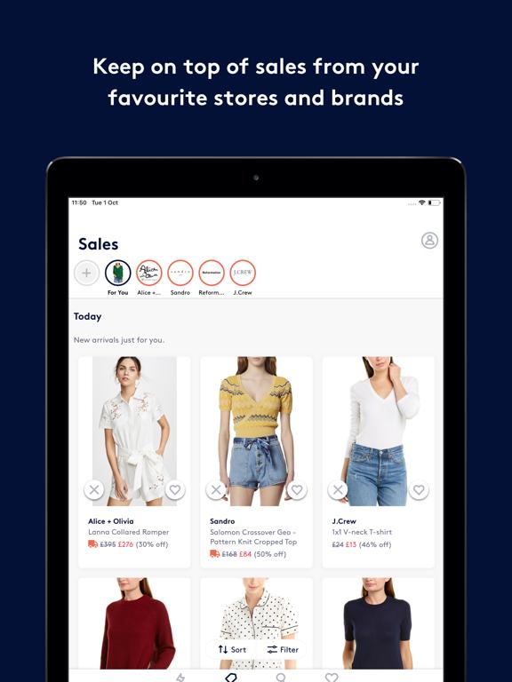 Screenshot #5 pour Lyst: Shop designer brands
