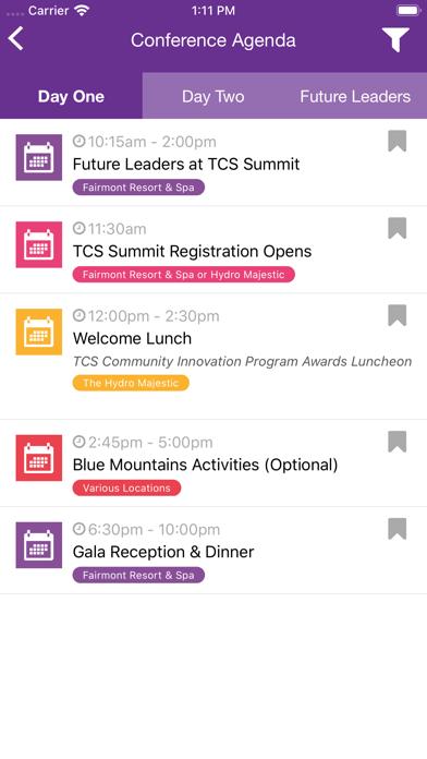 TCS Summit Asia Pacific 2019 Screenshot