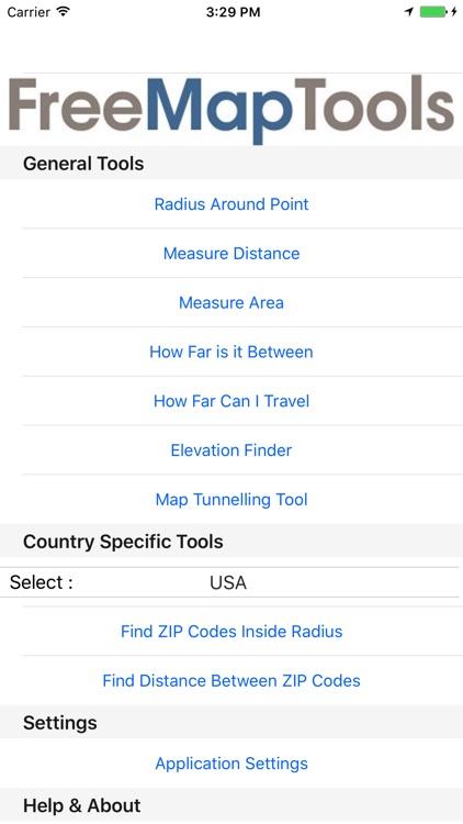 Free Map Tools screenshot-4