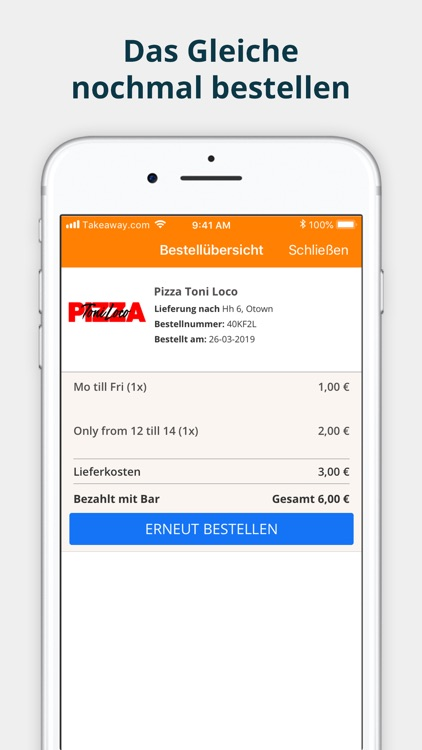 pizza.de - Order Food screenshot-3