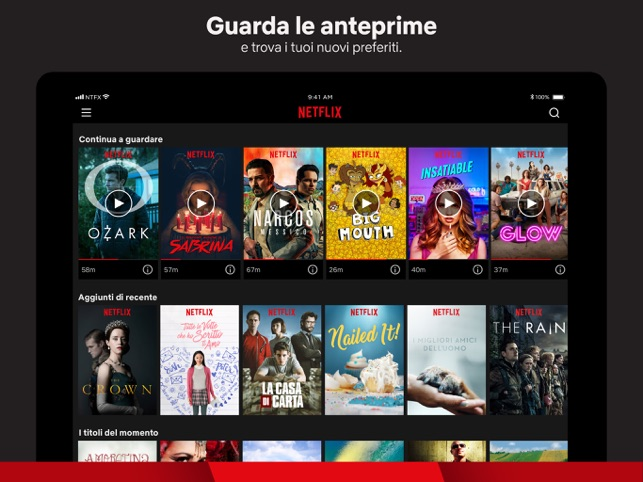 8943f757eb54  Netflix su App Store