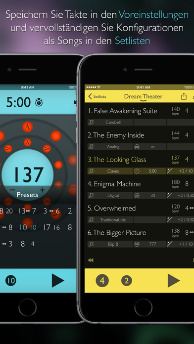 Screenshot for Tempo Advance - Metronom in Germany App Store