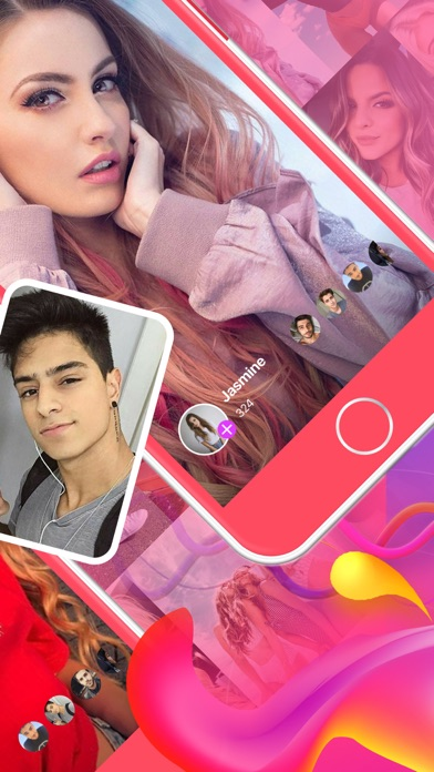 PINK Video Chat - Make Friends Screenshot