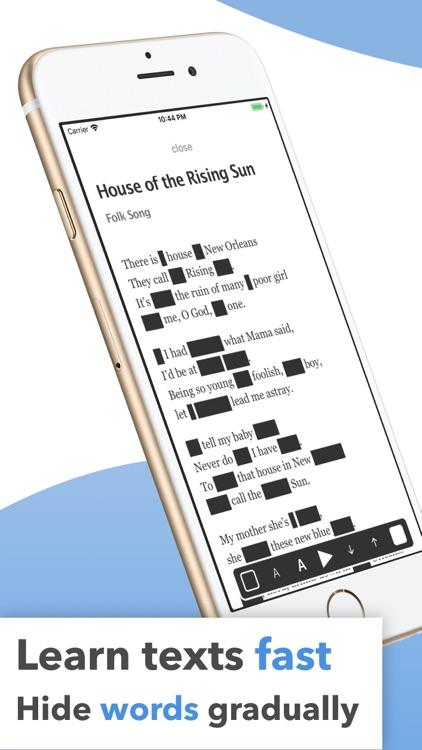 Memorize Lines by Heart - Memy screenshot-0