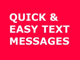 Quick Easy Text Messages