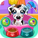 Caring for puppy salon games