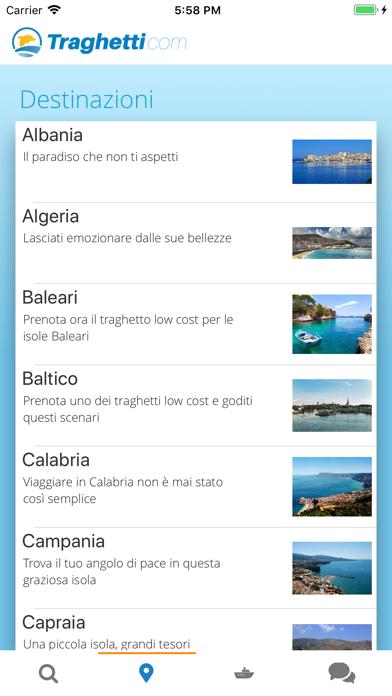 Ferries on line app image
