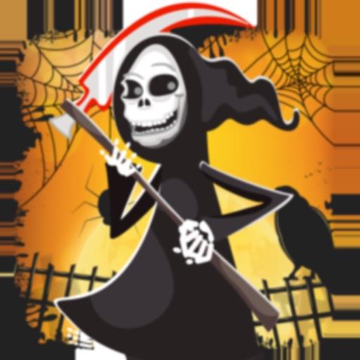 Dark Halloween Zombie Shooting
