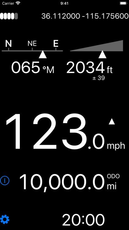 Dashometer-Lite GPS Dashboard