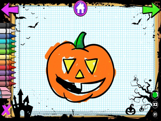 Color Objects Halloween screenshot 13