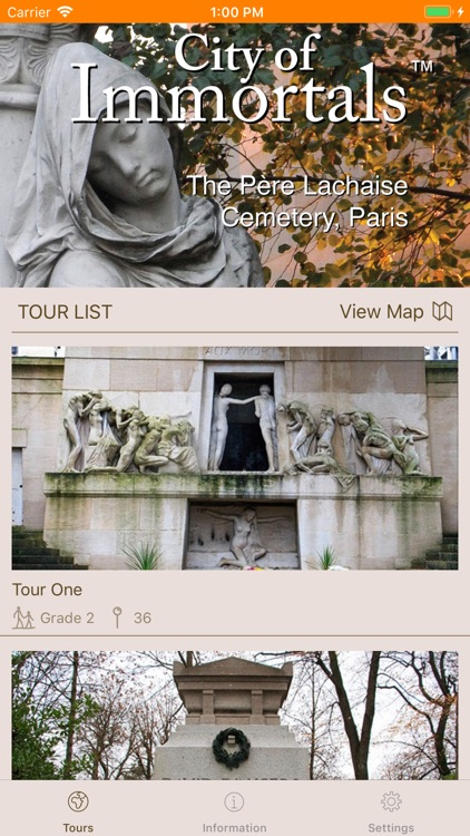 Pere-Lachaise screenshot-1