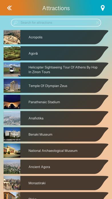 Athens Offline Guide screenshot three