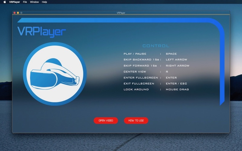 VRPlayer screenshot 1