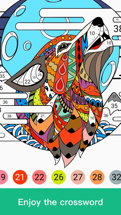 Paint By Number:Coloring Games screenshot-3