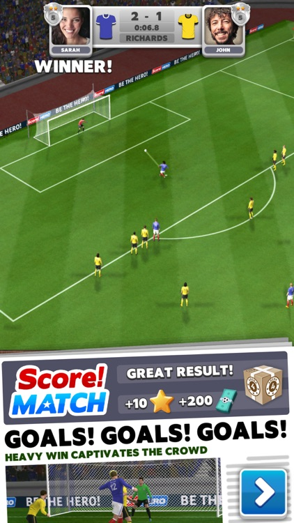 Score! Match - PvP Soccer screenshot-0