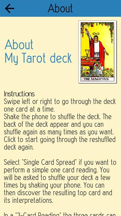 My Tarot Deck screenshot-6